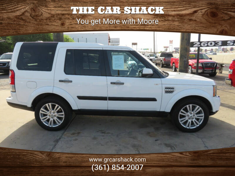 2011 Land Rover LR4 for sale at The Car Shack in Corpus Christi TX