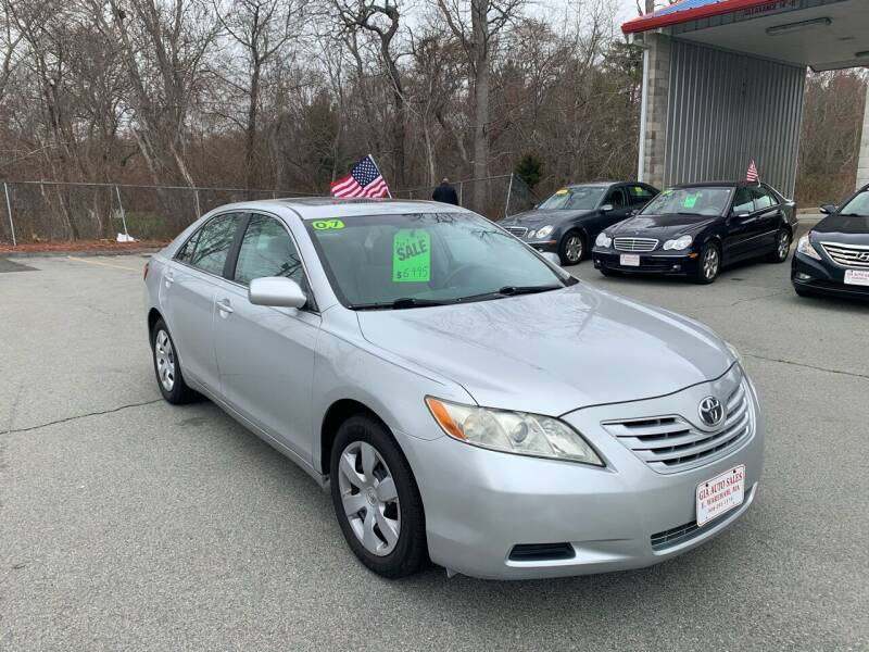 2007 Toyota Camry for sale at Gia Auto Sales in East Wareham MA