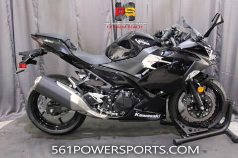 2019 Kawasaki Ninja 400 for sale at Powersports of Palm Beach in Hollywood FL