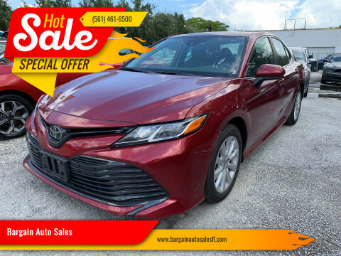 2019 Toyota Camry for sale at Bargain Auto Sales in West Palm Beach FL