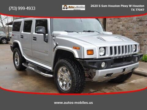 2009 HUMMER H2 for sale at AUTOS-MOBILES in Houston TX