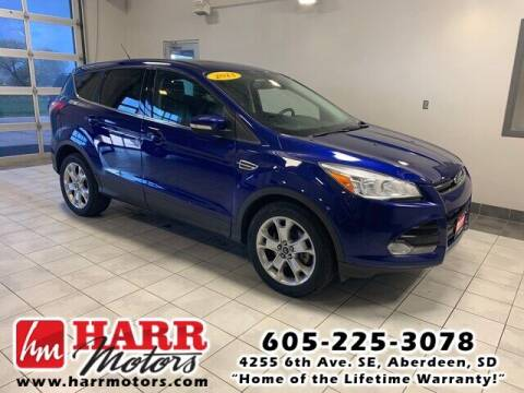 2013 Ford Escape for sale at Harr Motors Bargain Center in Aberdeen SD