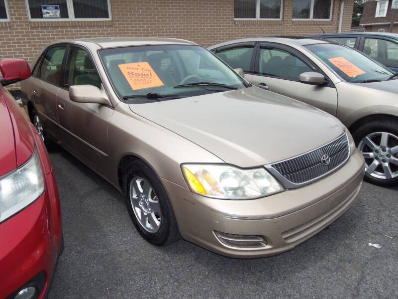 2000 Toyota Avalon for sale at Fulmer Auto Cycle Sales - Fulmer Auto Sales in Easton PA