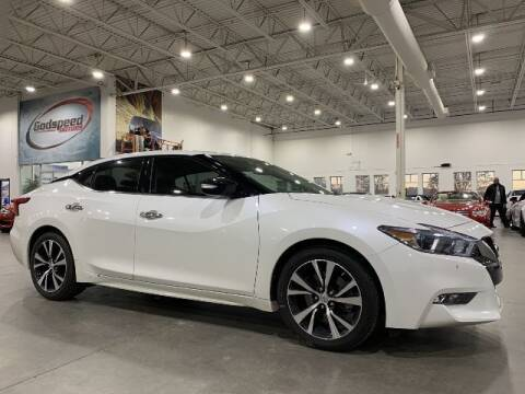 2017 Nissan Maxima for sale at Godspeed Motors in Charlotte NC