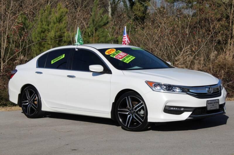 2016 Honda Accord for sale at McMinn Motors Inc in Athens TN