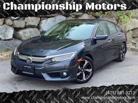 2016 Honda Civic for sale at Championship Motors in Redmond WA