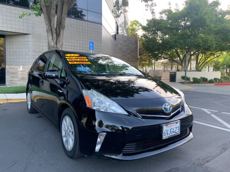 2012 Toyota Prius v for sale at Right Cars Auto Sales in Sacramento CA