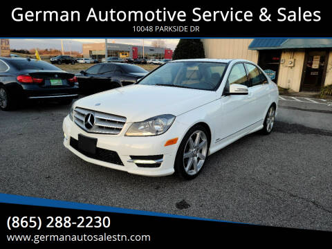 2013 Mercedes-Benz C-Class for sale at German Automotive Service & Sales in Knoxville TN