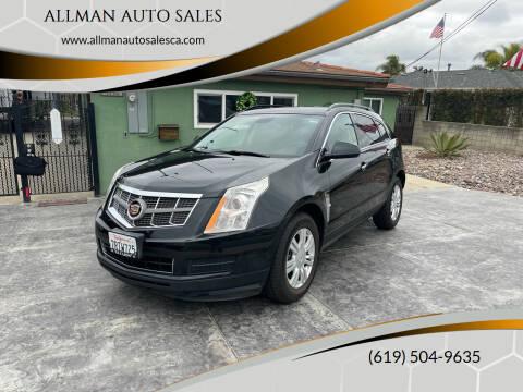 2011 Cadillac SRX for sale at ALLMAN AUTO SALES in San Diego CA