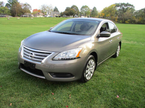 2015 Nissan Sentra for sale at Triangle Auto Sales in Elgin IL