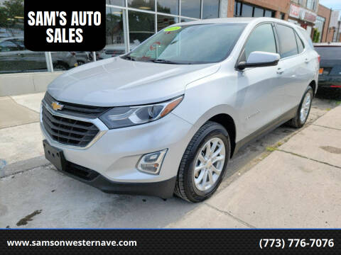 2018 Chevrolet Equinox for sale at SAM'S AUTO SALES in Chicago IL