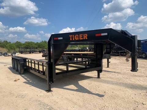 2021 TIGER  -Tractor Trailer -96'' X 20'- for sale at LJD Sales in Lampasas TX