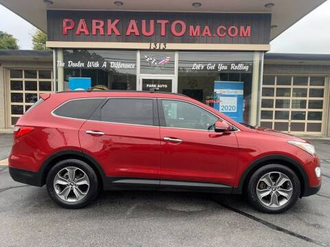 2014 Hyundai Santa Fe for sale at Park Auto LLC in Palmer MA