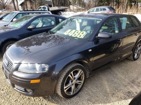 2008 Audi A3 for sale at Northwoods Auto & Truck Sales in Machesney Park IL