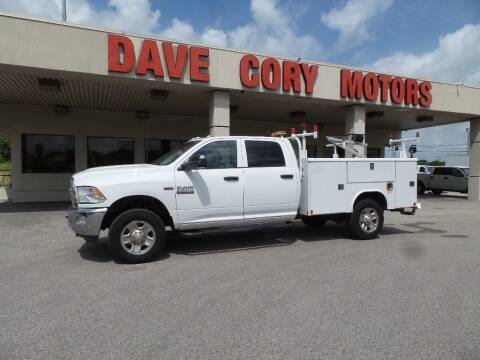 2016 RAM Ram Chassis 3500 for sale at DAVE CORY MOTORS in Houston TX