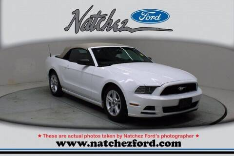 2014 Ford Mustang for sale at Auto Group South - Natchez Ford Lincoln in Natchez MS
