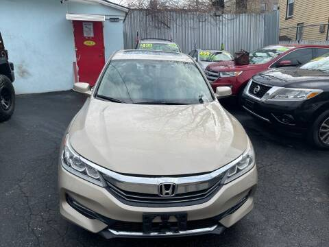 2016 Honda Accord for sale at Best Cars R Us LLC in Irvington NJ