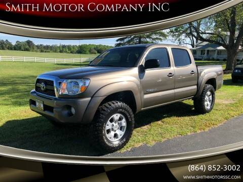 2011 Toyota Tacoma for sale at Smith Motor Company INC in Mc Cormick SC