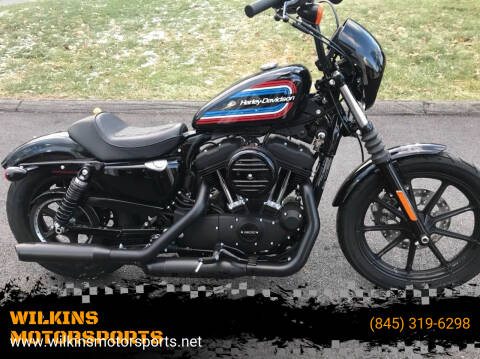 2020 Harley-Davidson Sportster Iron 1200 for sale at WILKINS MOTORSPORTS in Brewster NY