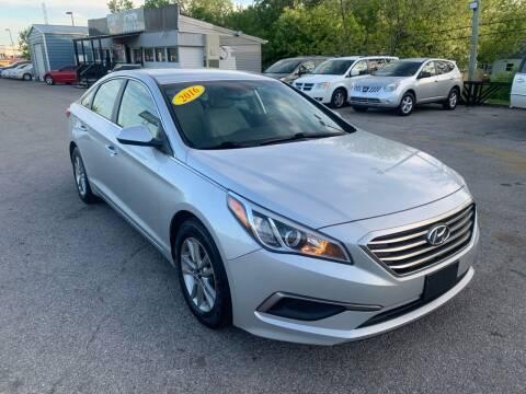 2016 Hyundai Sonata for sale at LexTown Motors in Lexington KY