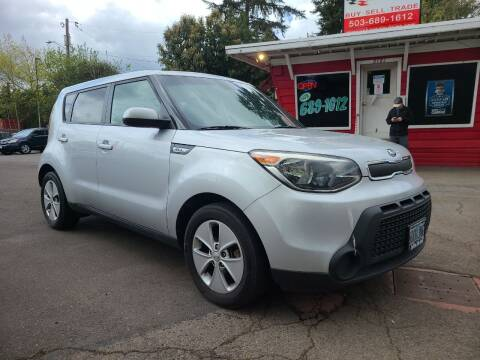 2016 Kia Soul for sale at Universal Auto Sales in Salem OR