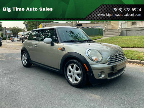 2007 MINI Cooper for sale at Big Time Auto Sales in Vauxhall NJ