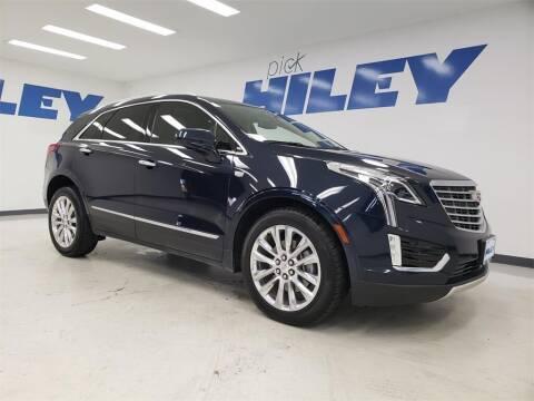 2017 Cadillac XT5 for sale at HILEY MAZDA VOLKSWAGEN of ARLINGTON in Arlington TX