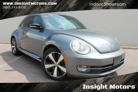 2012 Volkswagen Beetle for sale at Insight Motors in Tempe AZ
