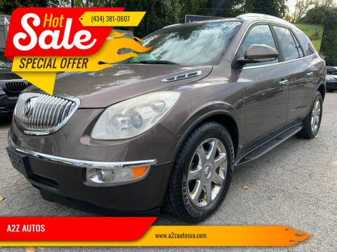 2010 Buick Enclave for sale at A2Z AUTOS in Charlottesville VA