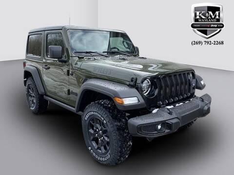 2021 Jeep Wrangler for sale at K&M Wayland Chrysler  Dodge Jeep Ram in Wayland MI