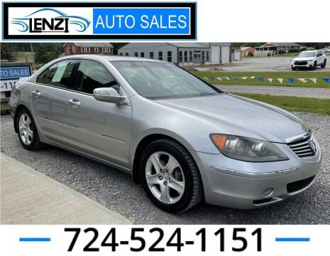 2008 Acura RL for sale at LENZI AUTO SALES in Sarver PA
