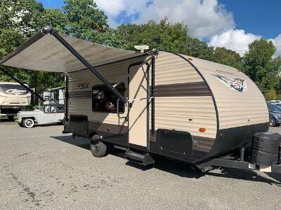 2019 Forest River Wildwood 179DBX for sale at Worthington Air Automotive Inc in Williamsburg MA