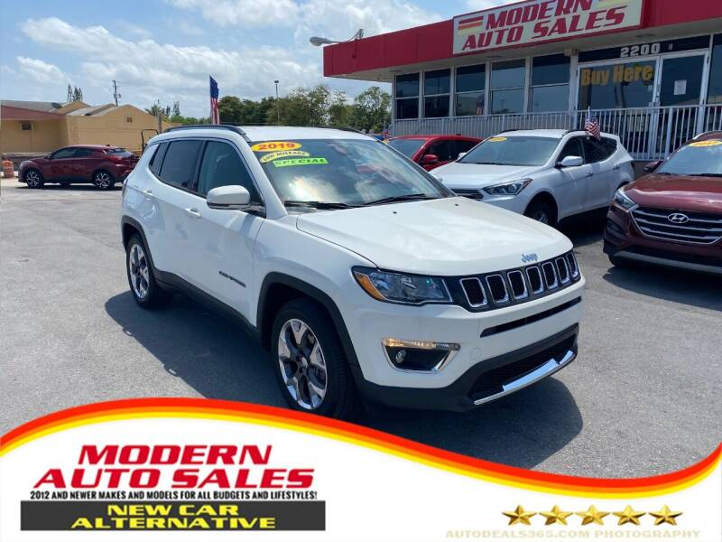 2019 Jeep Compass for sale at Modern Auto Sales in Hollywood FL