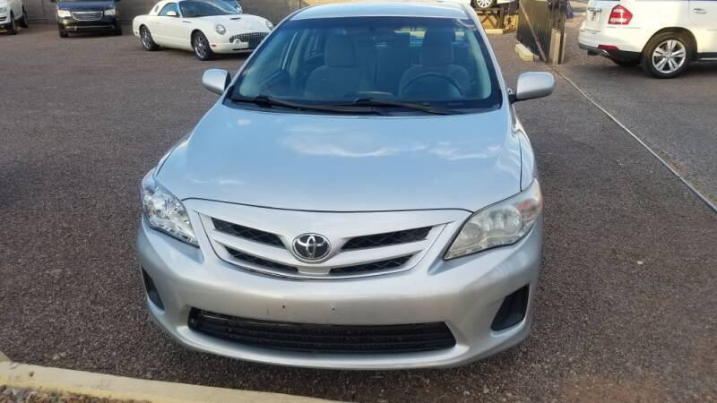 2011 Toyota Corolla for sale at 1ST AUTO & MARINE in Apache Junction AZ