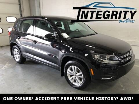 2013 Volkswagen Tiguan for sale at Integrity Motors, Inc. in Fond Du Lac WI