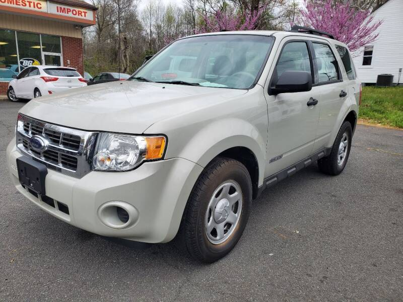 2008 Ford Escape for sale at 7 Sky Auto Repair and Sales in Stafford VA