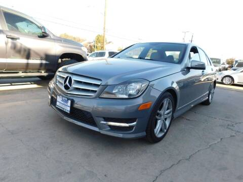 2013 Mercedes-Benz C-Class for sale at AMD AUTO in San Antonio TX