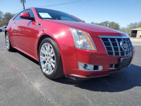 2012 Cadillac CTS for sale at Thornhill Motor Company in Lake Worth TX