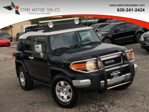 2007 Toyota FJ Cruiser for sale at Star Motor Sales in Downers Grove IL