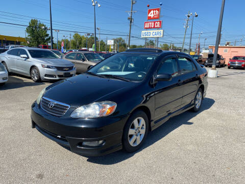 2007 Toyota Corolla for sale at 4th Street Auto in Louisville KY