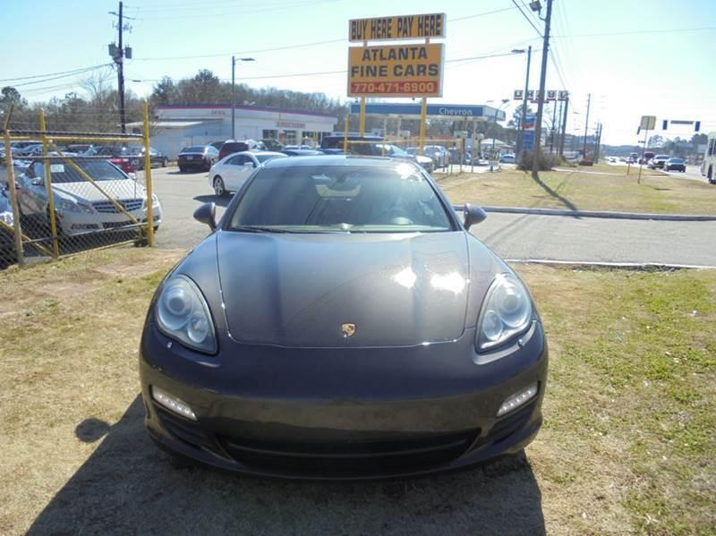 2010 Porsche Panamera for sale at Atlanta Fine Cars in Jonesboro GA