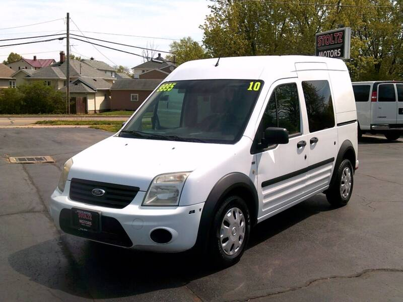 2010 Ford Transit Connect for sale at Stoltz Motors in Troy OH