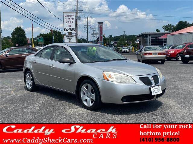 2007 Pontiac G6 for sale at CADDY SHACK CARS in Edgewater MD