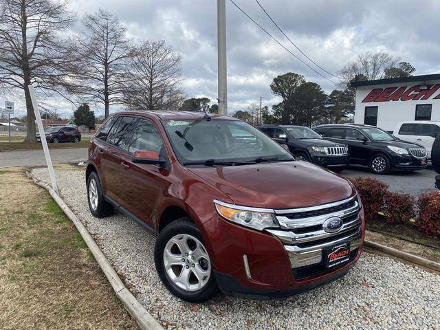 2014 Ford Edge for sale at Beach Auto Brokers in Norfolk VA