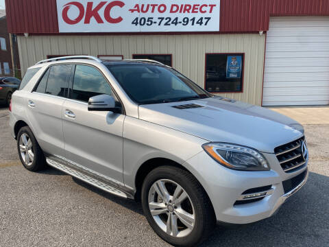 2015 Mercedes-Benz M-Class for sale at OKC Auto Direct in Oklahoma City OK