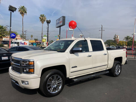 2015 Chevrolet Silverado 1500 for sale at Pacific West Imports in Los Angeles CA