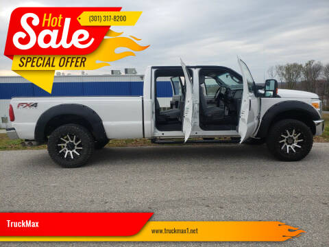 2014 Ford F-250 for sale at TruckMax in N. Laurel MD