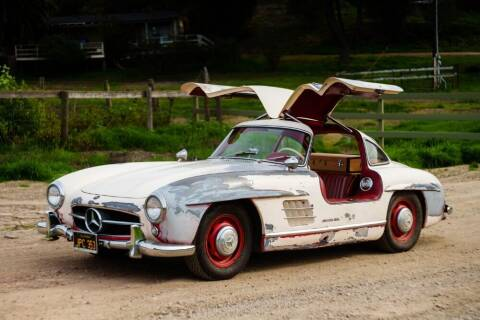 1956 Mercedes-Benz SL-Class for sale at Gullwing Motor Cars Inc in Astoria NY