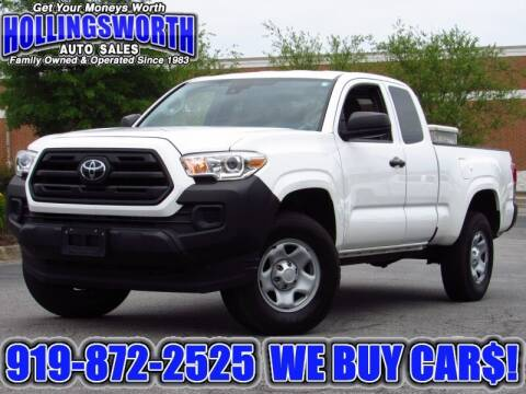 2019 Toyota Tacoma for sale at Hollingsworth Auto Sales in Raleigh NC