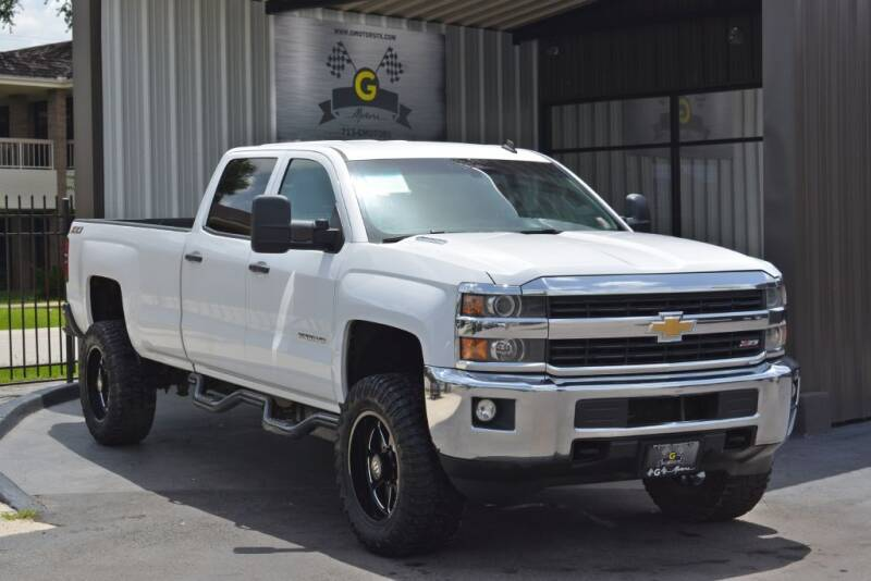2015 Chevrolet Silverado 2500HD for sale at G MOTORS in Houston TX